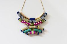African Souffle – necklace   VeruDesigns, LLC