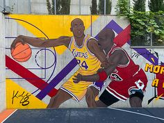 MICHAEL JORDAN and KOBE BRYANT on Behance Kobe Bryant Michael Jordan, Georgia, Jordans, Basketball Court, Behance, Nyc, New York