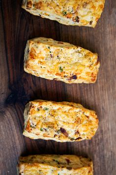Bacon Cheddar Scones | When Thomas Keller and Sebastien Rouxel were coming up with recipes for Bouchon Bakery Cookbook, they wanted to have something savory, and this is the story of these scones.