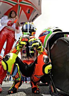 Rossi, king of MotoGP