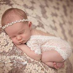 2017 rendas romper do bebê recém nascido fotografia prop roupas recém nascidos menino foto prop newborn romper macacão branco macacão vintage em Macacão/Body de Mãe & Kids no AliExpress.com | Alibaba Group