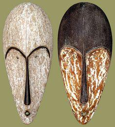 Love, love African masks!