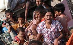 Sejumlah pengungsi Rohingya yang terdampar di Indonesia. Mereka tak diakui di negaranya sendiri. Foto : antarafoto.