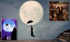Photographer Adrian Limani mixes ET and Mary Poppins in one image