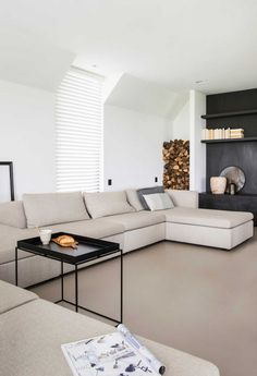room fireplace ideas couch living room room wall decals piece living room set room rugs for small living room room setup shui living room Living Room Sets, Living Room Furniture, Living Room Decor, Home And Living, Barn Living, Cozy Living, Small Living, Modern Living, Modern Interior Design