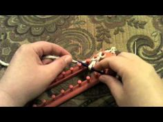 Kristen Mangus of GoodKnitKisses demonstrates how to do a Crochet Cast-on -- #loom #knitting