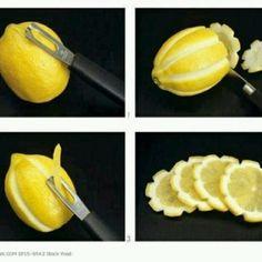 lemon party ideas | Via Mariher Marval