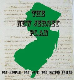 The New Jersey Plan was a proposal for the US government. The idea of this plan was  for each state to have one vote in Congress instead of the number of votes being based on population.