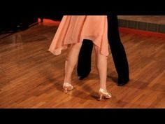 ▶ How to Do Basic Foxtrot Steps | Ballroom Dance - YouTube