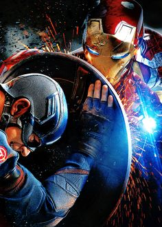 Captain America vs Iron Man Steve Rogers vs Tony Stark