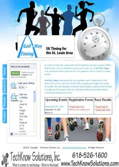 Gait-Way Timing Website #techknowsolutions