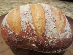 Homemade Artisan Bread - I have the book and make this for the family often.  You won't believe how easy it is.
