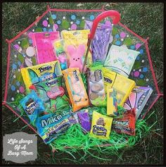PEEPS Easter Umbrella Basket And GIVEAWAY!