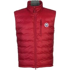 Canada Goose Lodge Down Vest - Men's Redwood, M Canada Goose ++You can get best price to buy this with big discount just for you.++