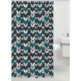 Found it at Wayfair - Midori Polyester Shower Curtain