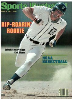 Kirk Gibson On Cover Of Sports Illustrated