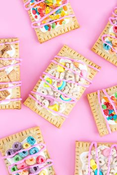 While I was researching for future projects last week, I noticed there was a SERIOUS lack in crazy pop tart recipes online. Other than ...