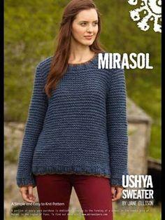 Free Mirasol Ushya Sweater pattern