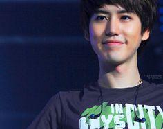Kyu's smile
