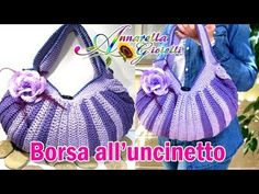 Tutorial borsa all'uncinetto. | How to crochet a bag - YouTube