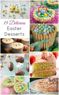 Delicious and colorful Easter desserts you don't want to miss | Easter treats | Spring desserts