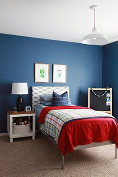 Just before school started, we decided to give Parker his own room. We already had a lot of things shifting around the home, so why not add ...
