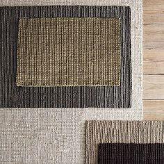 West Elm jute boucle rug- grey for bedroom Sisal Carpet, Diy Carpet, Rugs On Carpet, Carpet Ideas, Textiles, West Elm Rug, Lilac Painting, Small Space Interior Design, Interior Rugs