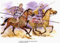 Orden de Batalla. Historia Militar: El Ejército de Alejandro Magno. Alejandro cargando junto a sus heitairoi,