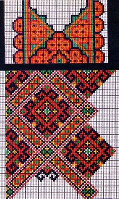 ukrainian folk embroidery: Kolotylo 159