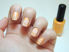 Saran wrap nails - Kiko 356 Melon