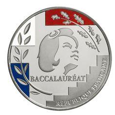 Médaille du Baccalauréat -  - Médaille des Monnaies de Paris - Argentan - 25 € - Personnalisable, évidemment.