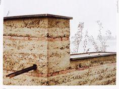 Lehmbau Wasserschutz - Ablauf / von Martin Rauch