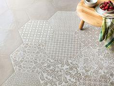 Gres Porcellanato Esagonale Stile Maiolica - Oltremare - Iperceramica