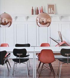6-Groessen-Dixon-Kupfer-Spiegel-Ball-Design-Designer-Pendelleuchte-Haengeleuchte