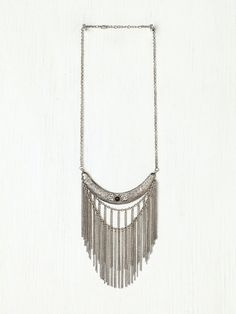 Free People Stone Moon Fringe Collar, $38.00