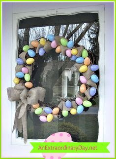 Easy Easter Wreath - An Extraordinary Day