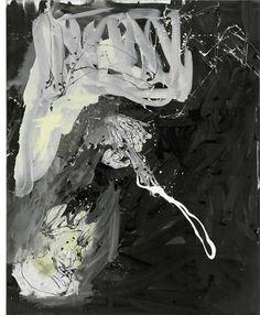 Georg Baselitz, Licht im Kreml, 2009 Oil on canvas 250 x 180 cm