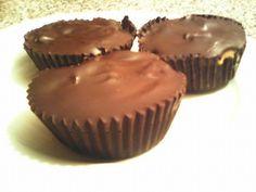 Συνταγές για διαβητικούς και δίαιτα: ΣΟΚΟΛΑΤΕΝΙΟ ΚΑΛΑΘΑΚΙ ΓΕΜΙΣΤΟ...χωρίς καθόλου ζάχαρη!!! Healthy Desserts, Stevia, Sweet Recipes, Muffin, Sweets, Sugar, Cookies, Chocolate, Eat