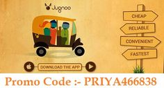 How to Sign up on Jugnoo App & Get 1 Free Ride of 50