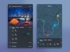 Camp Route - via @designhuntapp