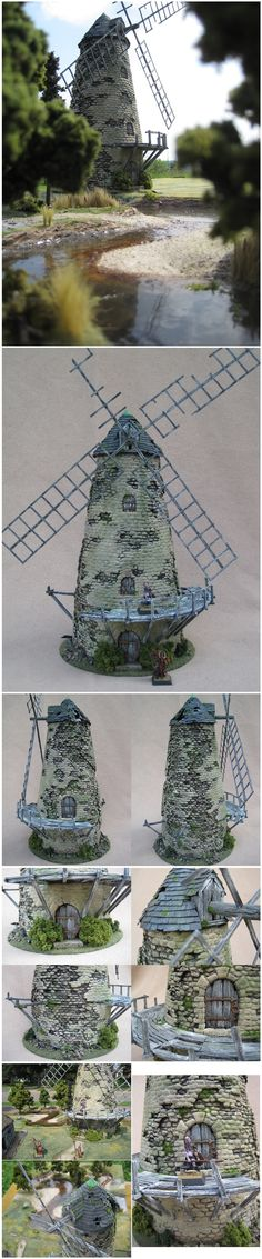 The Old Mill wargame terrain
