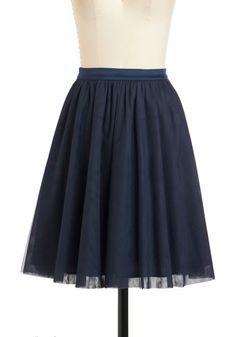 Heart and Pas Seul Skirt in Navy $47.99  http://www.modcloth.com/shop/skirts/heart-and-pas-seul-skirt-in-navy