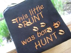Embroidered Deer Hunting Camo Onesies