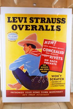 vintage levis ads | vintage levi s ad vintage levi s ad