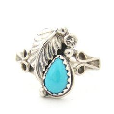 Four Corners USA Online - Size 6 1/2 Turquoise Tear Drop Sterling Ring Native American Navajo Indian Handcrafted Closeout Final Sale, $20.00 (http://stores.fourcornersusaonline.com/size-6-1-2-turquoise-tear-drop-sterling-ring-native-american-navajo-indian-handcrafted-closeout-final-sale/)