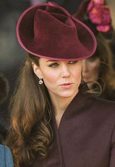 Kate Middleton. I just love her in hats.