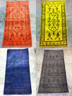 FREE Rug Overdye Contest! Rug Wash, Inc. is offering FREE RUG OVERDYE for your vote. Hurry, contest ends soon! New Fashion Trends, Colorful Rugs, Free, Decor, Decoration, Latest Fashion Trends, Decorating, Deco