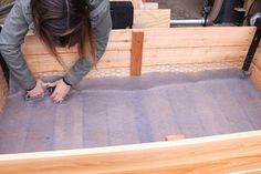 How to Make a DIY Raised Planter Box : 14 Steps (with Pictures) - Instructables Planter Box Plans, Raised Planter Boxes, Garden Planter Boxes, Planters, Cedar Fence Pickets, Home Vegetable Garden, Herb Garden, Plant Box, Yard Design