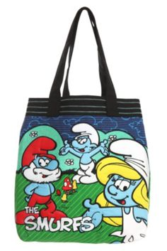 The Smurfs Group Tote Bag