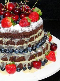 Como fazer o Naked Cake (Bolo Rústico) - Gostei... e agora?!